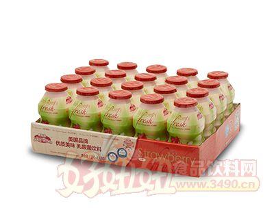 界界乐乳酸菌饮料(草莓)
