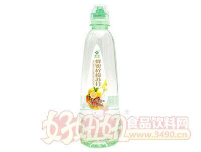 果浓蜂蜜柠檬苏打水饮料500ml