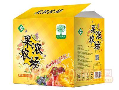 果浓农场饮品1.5L×6瓶