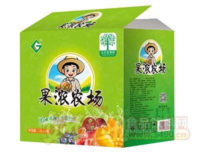 果浓农场果汁饮品1.5L×6瓶