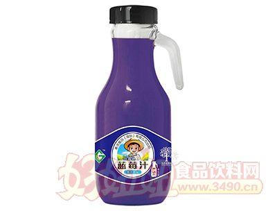 果浓蓝莓汁饮品1.5L