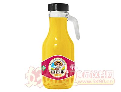 果浓百香果果汁饮品1.5L