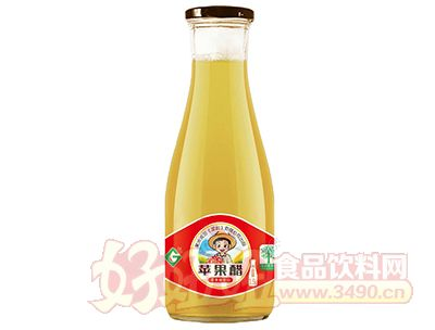 果浓苹果醋饮品1.5L瓶装