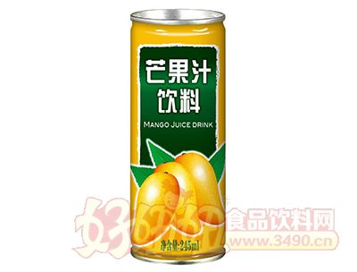 金羽芒果汁饮料245ml