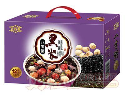 金海燕黑米八宝粥320g×12罐