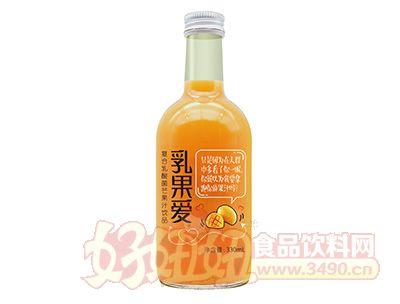 乳果爱复合乳酸菌芒果汁lehu国际app下载330ml