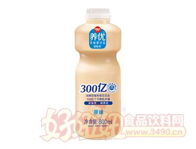 养优乳酸菌饮品原味800ml