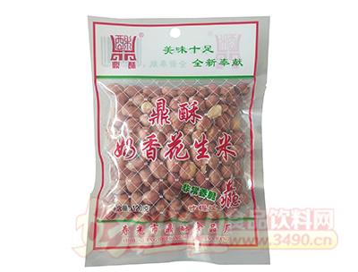 鼎酥奶香花生米120克