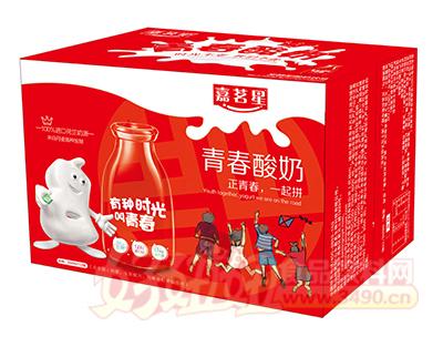 嘉茗星青春发酵型酸奶饮品350ml×12瓶
