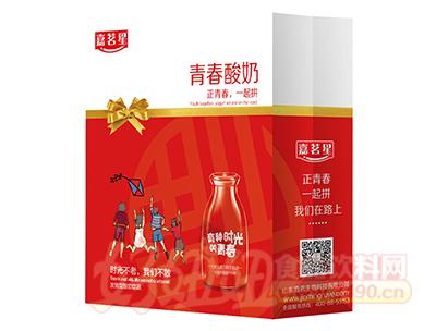 嘉茗星青春发酵型酸奶饮品350ml×8瓶