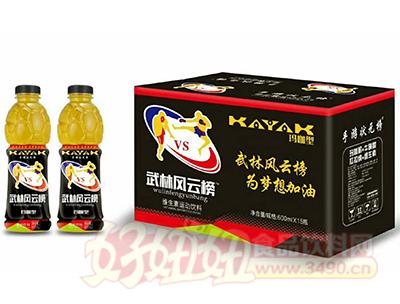 武林风云榜维生素运动饮料600ml×15瓶