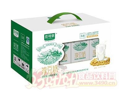 豆可依淳豆奶250mlx12盒