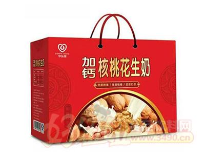 享乐滋加钙核桃花生奶礼盒