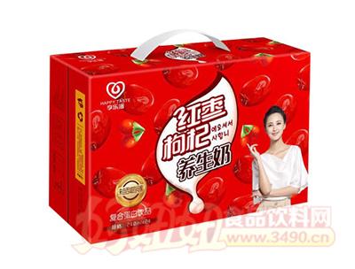 享乐滋红枣枸杞养生奶