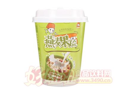 食小二燕麦果蔬营方便冲调粉