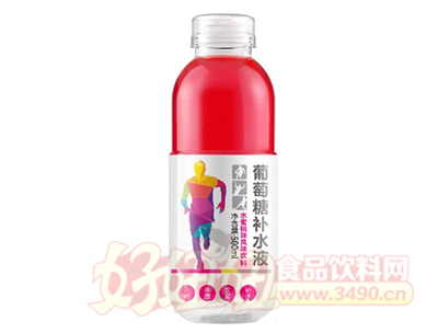 享乐滋葡萄糖补水液水蜜桃味500ml
