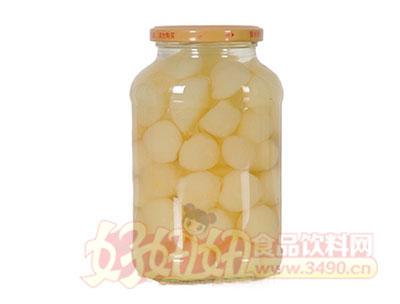 德盛恒700g糖水梨罐头反面