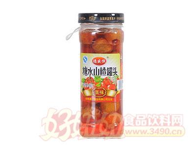 德盛恒450g糖水山楂罐头