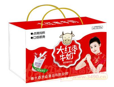 百岁山大红枣牛奶复合蛋白饮品