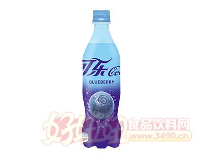 优贝蓝莓味可乐500ml