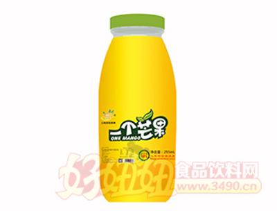 255ml一个芒果果汁饮料