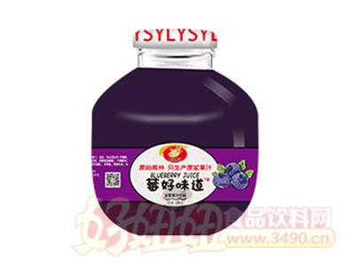300m莓好味道蓝莓果汁饮料