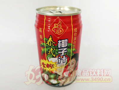 泰式生榨椰子汁310ml