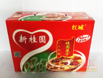 红威桂圆莲子八宝粥箱装