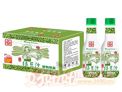 惠康食品绿豆沙谷物饮品320mlx24瓶