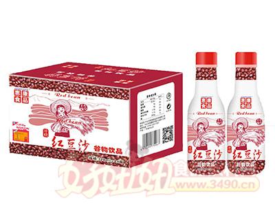 惠康食品红豆沙谷物饮品320mlx24瓶