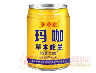 参草堂草本能量玛咖维生素风味饮料250ml