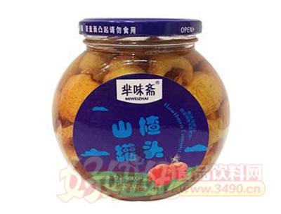华味斋山楂罐头838g