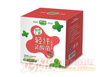 养乐舒鲜果C菌轻纤乳酸菌草莓味1Lx6瓶