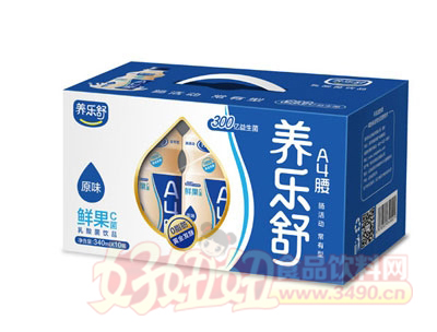 养乐舒原味鲜果C菌340mlx10瓶