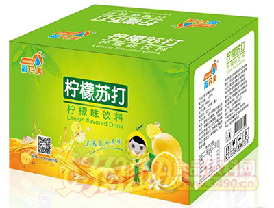 简丹美柠檬苏打