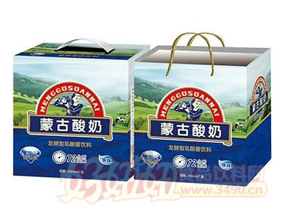 蒙古酸奶发酵型乳酸菌240mlx12盒