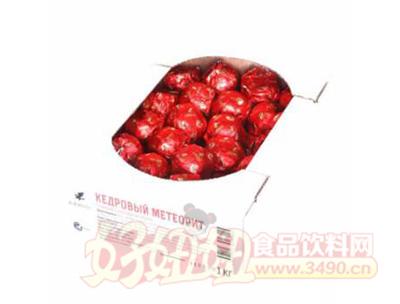 红莓苔果巧克力包浆雪松流星糖果1kg