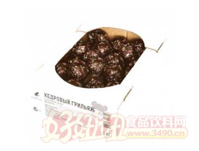 巧克力包浆雪松果仁糖1kg