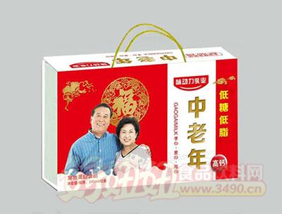味动力中老年复合蛋白饮品礼盒