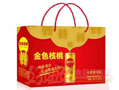 今麦郎金色核桃核桃乳植物蛋白饮料240mlx16罐