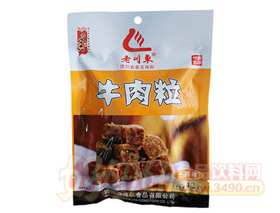 老川东牛肉粒干五香味42g