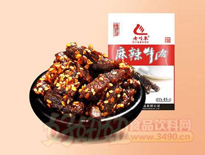 老川东麻辣牛肉干条45g