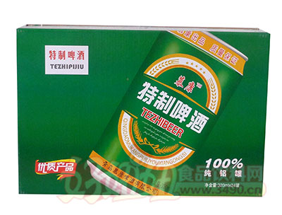 慕康精制啤酒320ml×24罐