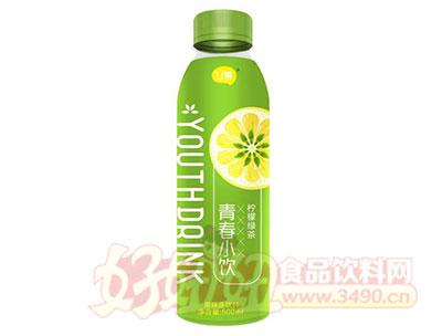 U幕青春小饮柠檬绿茶饮料500ml