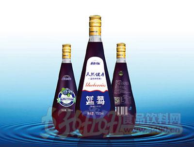 最强大脑蓝莓汁1500ml