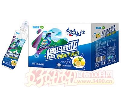 德玛西亚U幕气泡型柠檬茶风味饮料500ml×15瓶
