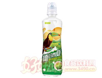 德玛西亚U幕气泡型青柠薄荷汁风味饮料500ml