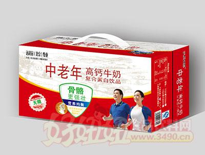 中老年高钙牛奶无糖复合蛋白饮品(初元礼盒)