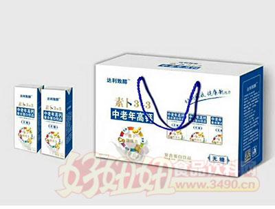 素卜3-3中老年高钙无糖复合蛋白饮品(初元纯牛奶)