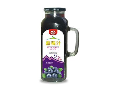 一小一样蓝莓汁1l